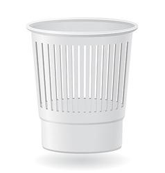 dustbin 01 vector image
