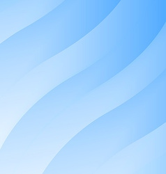 Blue abstract smooth wave design - creative vector image