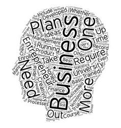 Entreprenuer university text background wordcloud vector
