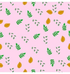 floral colorful seamless pattern delicate vector image vector image