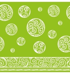 seamless patterned background vector image vector image