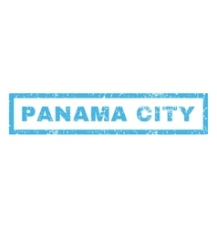 Panama city rubber stamp vector