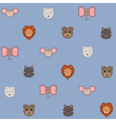 animal pattern vector image