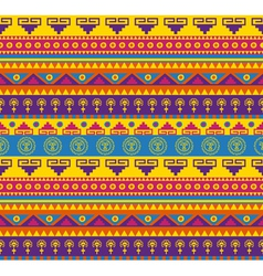 mexican pattern vector image