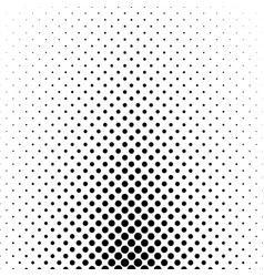Abstract monochrome polka dot pattern - geometric vector