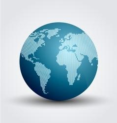 Digital world vector