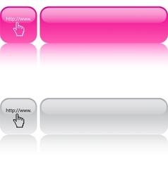 Www click square button vector