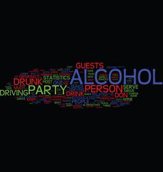 You can host a party and get sued text background vector