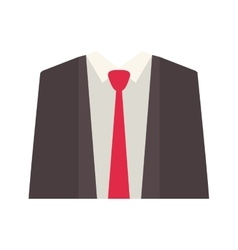 Executive man clothes vector