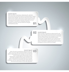 Infographic paper design template vector