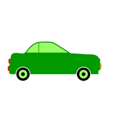 Car icon on white vector