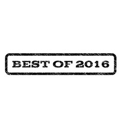 best of 2016 watermark stamp vector image vector image