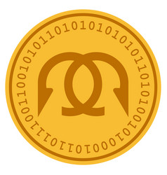 Clew digital coin vector