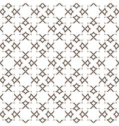 Delicate seamless stylized flower pattern vector