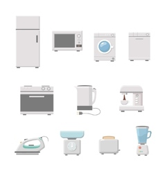 Household appliance vector