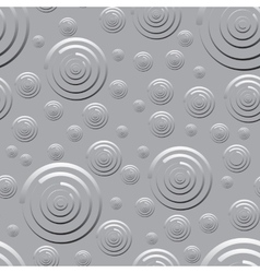 Seamless pattern of rounds for background vector image