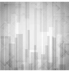 Abstract White Rectangle Shapes Background vector image