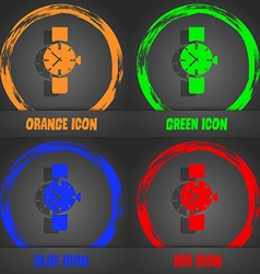 Watches icon symbol fashionable modern style in vector
