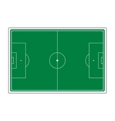 A field for soccer vector