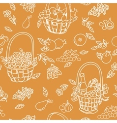 Summer seamless pattern bakground vector