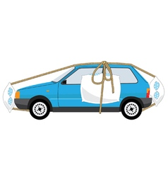 auto insurance vector image vector image