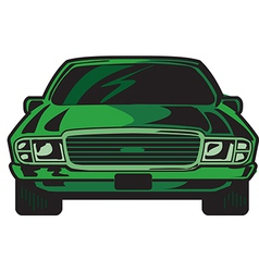 Car front vector