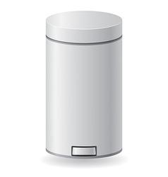 dustbin 04 vector image
