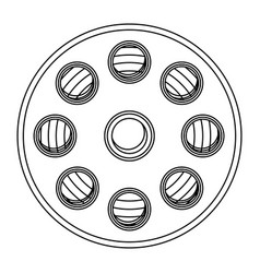 Film production clipart icon vector