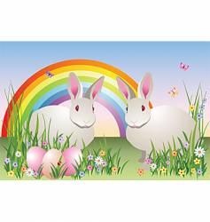 spring fantasy vector image vector image