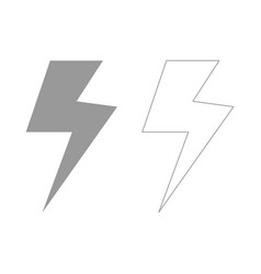 Symbol electricity set icon vector