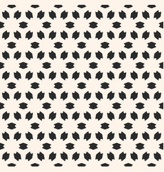 abstract floral geometric seamless pattern vector image vector image