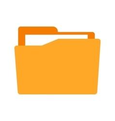 File in Folder vector image vector image