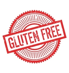 Gluten free stamp vector image vector image