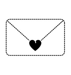 love envelope isolated icon vector image