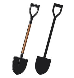 a shovel vector image
