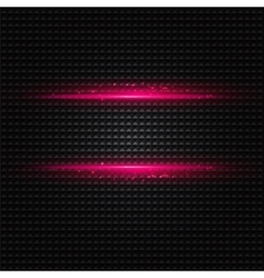 Abstract dark background with pink color light vector image vector image
