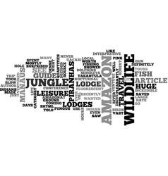 Amazon journey afs journal text word cloud concept vector