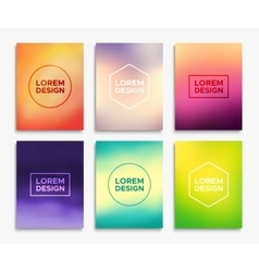 Brochure flyer layouts in A4 size banners vector image vector image