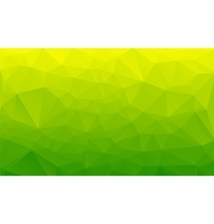 Shades of green abstract polygonal geometric vector