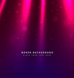 Light rays bokeh background vector