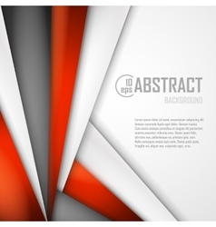 Abstract background of orange white and black vector