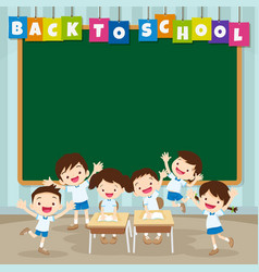 Back to school with pupil vector