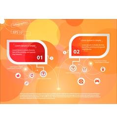 Infografika paper vector image vector image