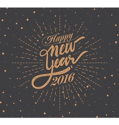 New 2016 Year vector image