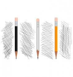pencil3 vector image vector image