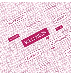 Wellness vector