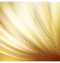 Gold abstract swirl vector