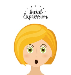 Expression facial vector