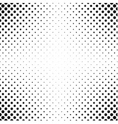 Abstract monochrome polka dot pattern vector