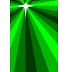 Breen christmas star vector